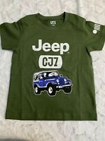 Uniqlo Crew Neck Jeep CJ7 Graphic Tee Short Sleeve T-Shirt Size 3 NWOT