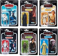 "D3 Star Wars Hasbro 3.75"" Vintage Collection 2018 Action Figure Set of 6"