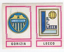 figurina CALCIATORI PANINI 1982/83 NEW numero 575 GORIZIA LECCO