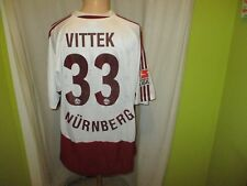 "1.FC Nürnberg Adidas Trikot 2004/05 ""mister+ lady jeans"" + Nr.33 Vittek Gr.XXL"
