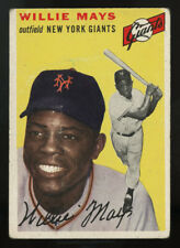 1954 TOPPS BASEBALL ~ #90 ~ WILLIE MAYS ~ NEW YORK GIANTS ~ PRICED TO SELL!