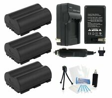 Ultrapro 3x BP-511 Batteries + Charger Bundle for Select Canon Digital Cameras