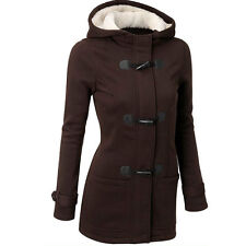 Women's Fashion Windbreaker Outwear Warm Wool Slim Long Coat Jacket Trench Parka