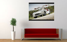 BEAUTIFUL OLD MERCEDES 300SL NEW GIANT LARGE ART PRINT POSTER PICTURE WALL
