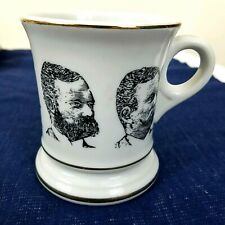 Mustache Mug In Collectible Shaving Mugs Brushes For Sale Ebay