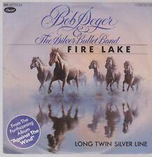 "7"" Bob Seger & The Silver Bullet Band Fire Lake / Long Twin Silver Line 80`s"
