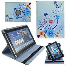 Blaue Blumen Tablet Tasche für 10 Zoll Samsung Galaxy Tab A6 SM-T580 T585 Hülle