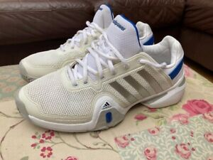 Mens Adidas Barricade trainers size 10.5 in VGC