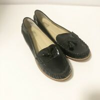 DV By Dolce Vita Faux Patent Leather Tasseled Loafers Women's Size 7