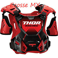 Thor Guardian S20 Motocross Off Road Chest Protector Body Armour Red Child