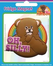 Rainbow Bungle Oh Silly PVC Fridge Magnet  HALF PRICE - ON SALE