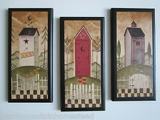 Outhouses Rustic primitive bath signs Country Bathroom Pictures moon