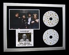 KASABIAN+SIGNED+FRAMED+PSYCHO+CRYING OUT LOUD=100% AUTHENTIC+EXPRESS GLOBAL SHIP