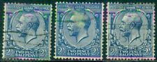 Great Britain Sg-422, Scott # 191, Used, Fine, 3 Stamps, Great Price!