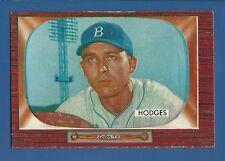 1955 Bowman # 158 Gil Hodges  Brooklyn Dodgers  EX+  SET BREAK