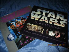 KALENDER  1996  :  STAR  WARS  +  STAR TREK   Next Generation  , ovp.