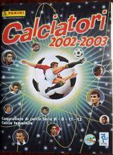 Calciatori 2002-03 figurine Set AGGIORNAMENTI Panini