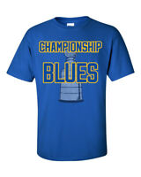 Championship Blues Graphic T Shirt St. Louis Blues 2019 NHL Stanley Cup