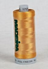 POLYESTER POLYNEON EMBROIDERY THREAD MADEIRA 6 SPOOLS each 1000 m 1725 Gold