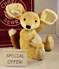 Bajo a mitad de precio! Charlie Bears Baby Boutique Felipe Zorro (Stock Nuevo!)