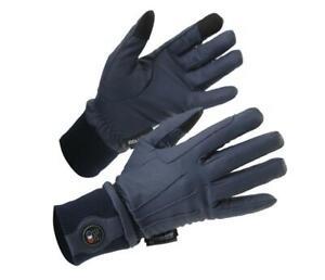Premier Equine Dajour Waterproof Riding Gloves Black or Navy