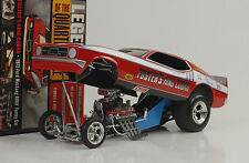 1972 Ford Mustang Foster`s  Quarter Mile Dragster Funny car 1:18 Auto world Ertl