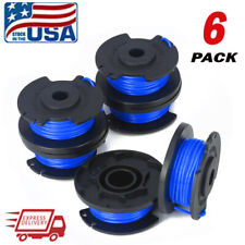 6-Pack For Ryobi One Plus String Trimmer Line AC14RL3A Spool 18/24/40V Cordless