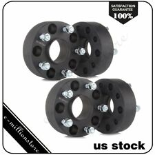 "4X 2"" 5x127 5x5 Hubcentric 1/2"" Wheel Spacers For Jeep Grand Cherokee Commander"