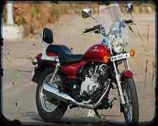 Bajaj Avenger 200 07 01 A4 Metal Sign moto antigua añejada De
