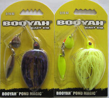 2 - BOOYAH BAIT Pond Magic - 3/16 oz. - Fire Fly & June Bug