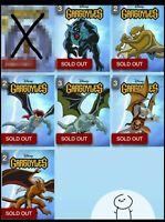 Topps Disney Collect Digital - Gargoyles Motion Super Rare **U PICK 1**