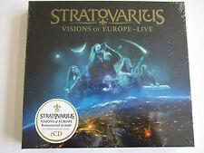 Stratovarius - Visions Of Europe (Remastered) (2016) Doppel CD - NEU