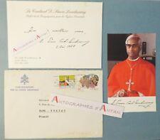 Cardinal D Simon LOURDUSAMY Eglises orientales chiese orientali - Rome Roma 1988