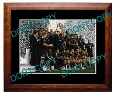 2011 New Zealand All Blacks Rugby World Cup Win Large A3 Photo, The Team 2