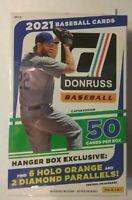 ⚾ 2021 Donruss Baseball HANGER BOX Factory Sealed