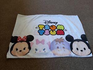 Pillowcase Disney Tsum Tsum rare pillowcase Eeyore Mickey Minnie mouse theme