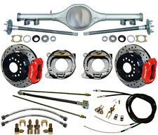 CURRIE 67-69 STAG SHOCK F-BODY MULTI-LEAF REAR END & WILWOOD DISC BRAKES,DRL,RED