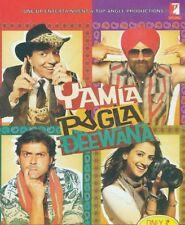 YAMLA PAGLA DEEWANA (DHARMENDRA, SUNNY DEOL, BOBBY DEOL) ~ BOLLYWOOD 2 DISC DVD