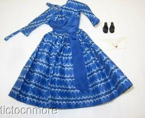 VINTAGE BARBIE DOLL FASHION CLOTHES #978 LET'S DANCE SET NEAR COMPLETE