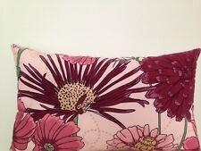 Daisy Garden Purple Soft Plush Outdoor Indoor  floral Lumbar Retro Cushion Cover