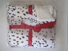 Snow Leopard Plush Fleece Throw Blanket Get Cozy 483127800003