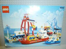 LEGO® Classic Town Bauanleitung 6542 Launch Load Seaport ungelocht BA Anleitung