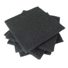 "2pc Desco 4""x4""x1/4"" Dense Anti-Static Foam; Conductive ESD Foam IC Storage USA"