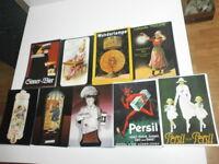 100 nostalgische Postkarten mit alter Werbung Reclame Bier Persil Schokolade usw