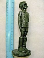 "Vintage Soviet Statuette,""Son of the Regiment"",metal,USSR"