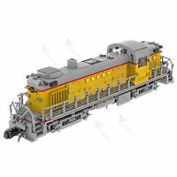 MOC-52188 Union Pacific Alco RS-2 (1:38)Building Block Intelligent Toy DIY Gift