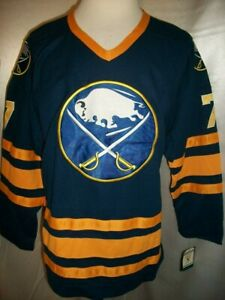"Rick Martin Buffalo Sabres Blue & Yellow ""1980-1983 Throwback"" CCM NHL Jersey"