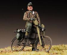 Award Winner Built MB 1/35 German Volkssturm Tank Hunter +Bike +PE +Accessories