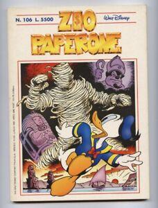 Zio Paperone N.106 Uncle Scrooge Comics 1998 Carl Barks
