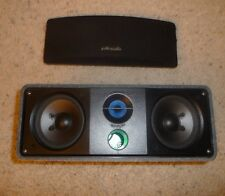 Polk Audio RM Series II Shielded Center Channel Speaker Speckled Dark Gray Case
